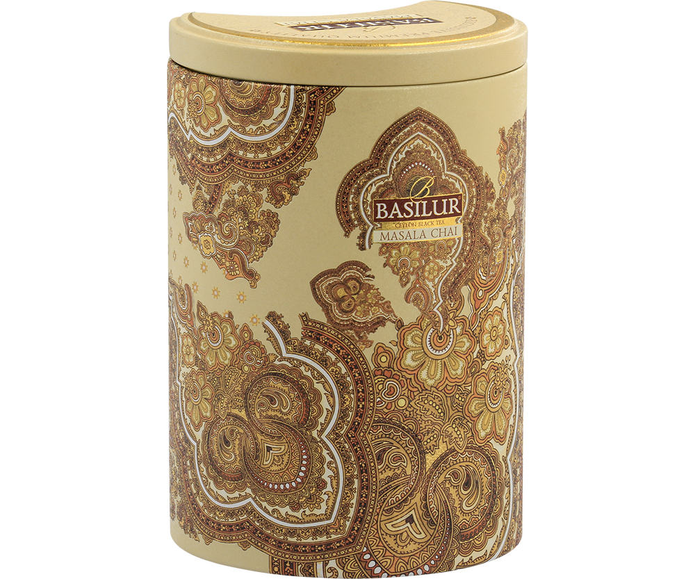 Oriental Collection - Masala Chai loose leaf tea metal caddy