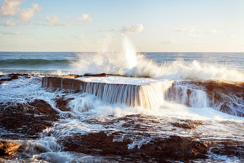 SNAPPER ROCKS POOL by Wes Smith