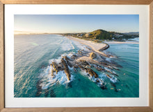 CURRUMBIN ALLEY AERIAL by Wes Smith