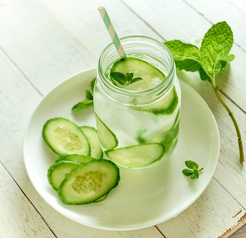 Cucumber & Mint Water