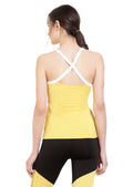 Cross Back Active Tank - Yellow
