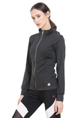 Red Cheri Groove City Jacket - Grey