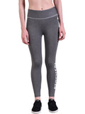 Red Cheri Signature Leggings - Dark Grey