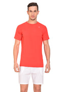 Red Cheri Mens Raw Tee - Red