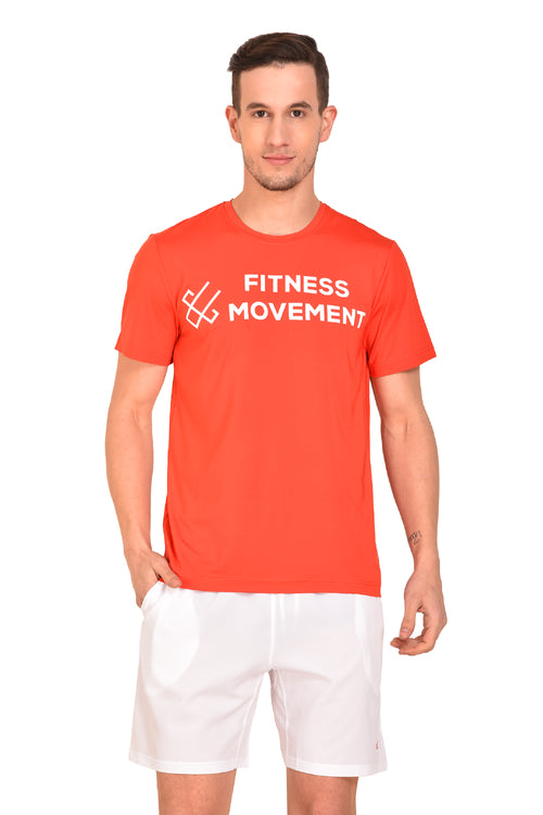 Red Cheri Fitness Movement Tee - Red