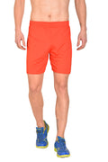 Red Cheri Football Shorts - Red