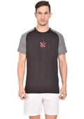 Red Cheri Muscle up Tee - Black
