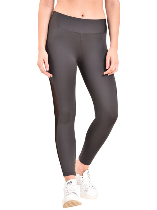 Zero Gravity Mesh Legging- Grey