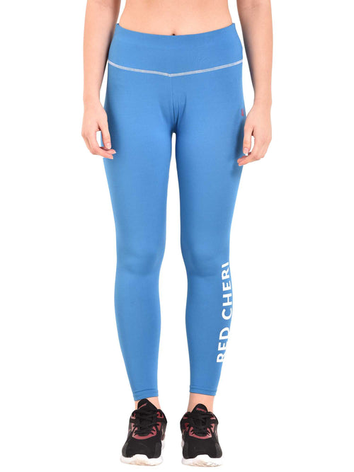 Blue Signature Leggings