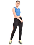 Zero Gravity Mesh Legging- Black