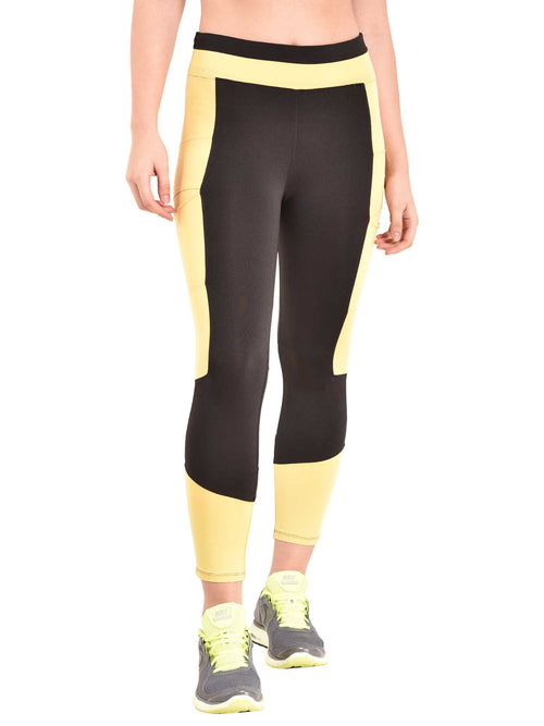 Yellow Trikon Leggings