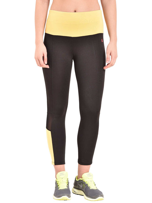 yellow mudra leggings