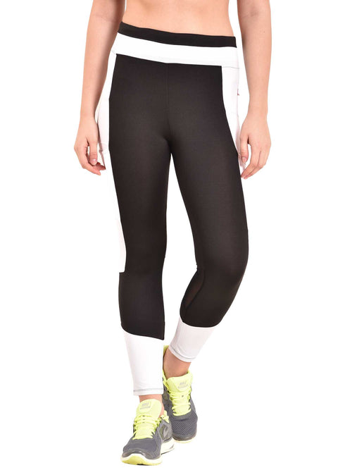 White Trikon Leggings