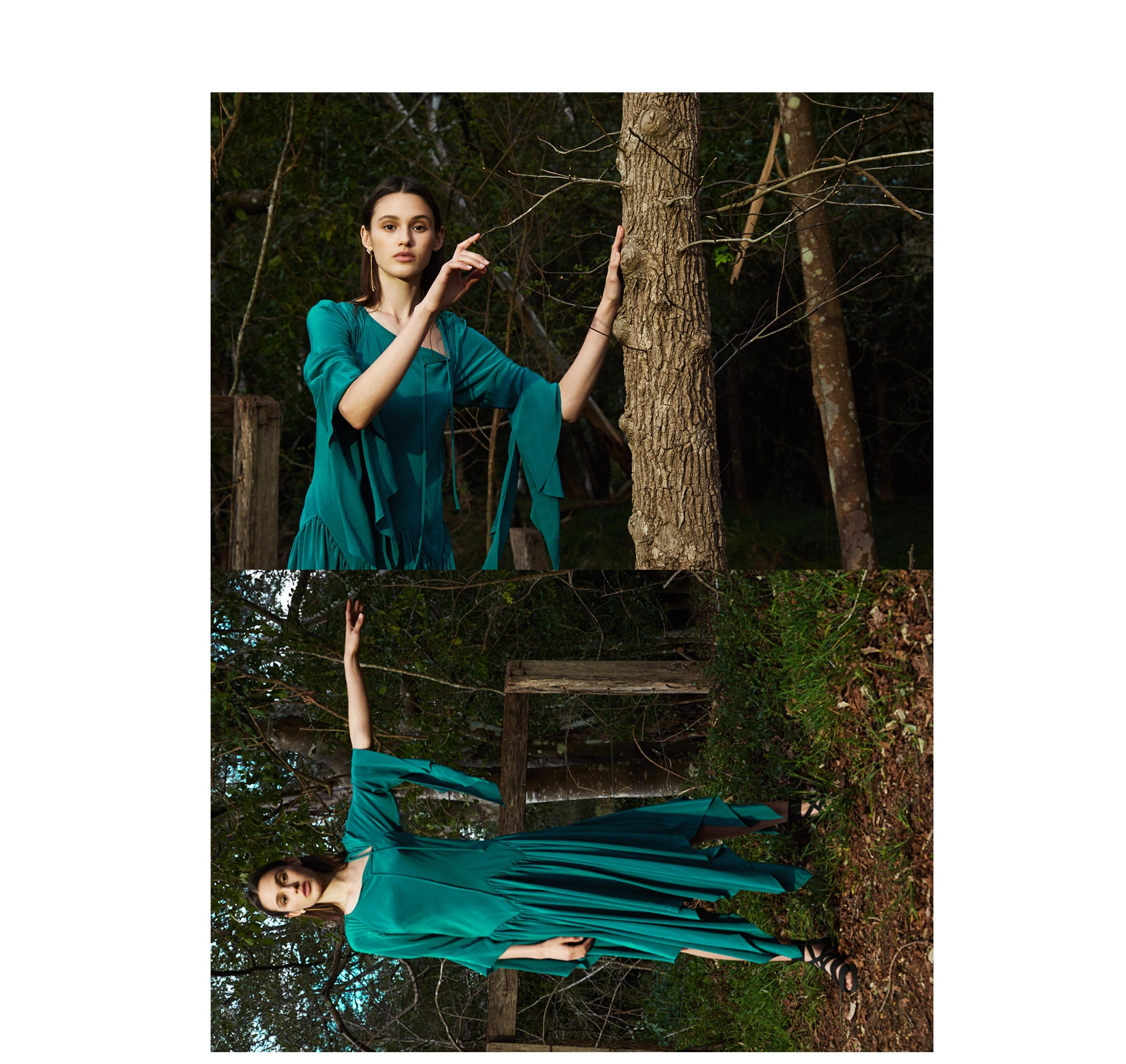 kitx green dress no 12 collection