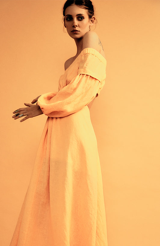 ANTHROPOCENE KNOTTED DRESS - SUNKISS