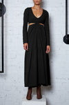 Reviving Nature Dress - Black