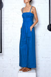 Act Local Think Global Jumpsuit - Dark Blue