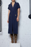 The Linen Shirtdress - Indigo