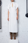 Earth Angel Midi Dress - White