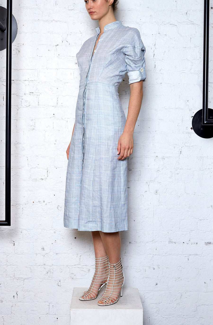 Configuration Shirtdress - Washed Blue
