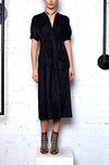 X Safari Dress - Black