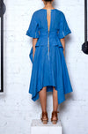 Localised Dress - Dark Blue