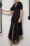 Anthropocene Two Way Dress - Black Linen