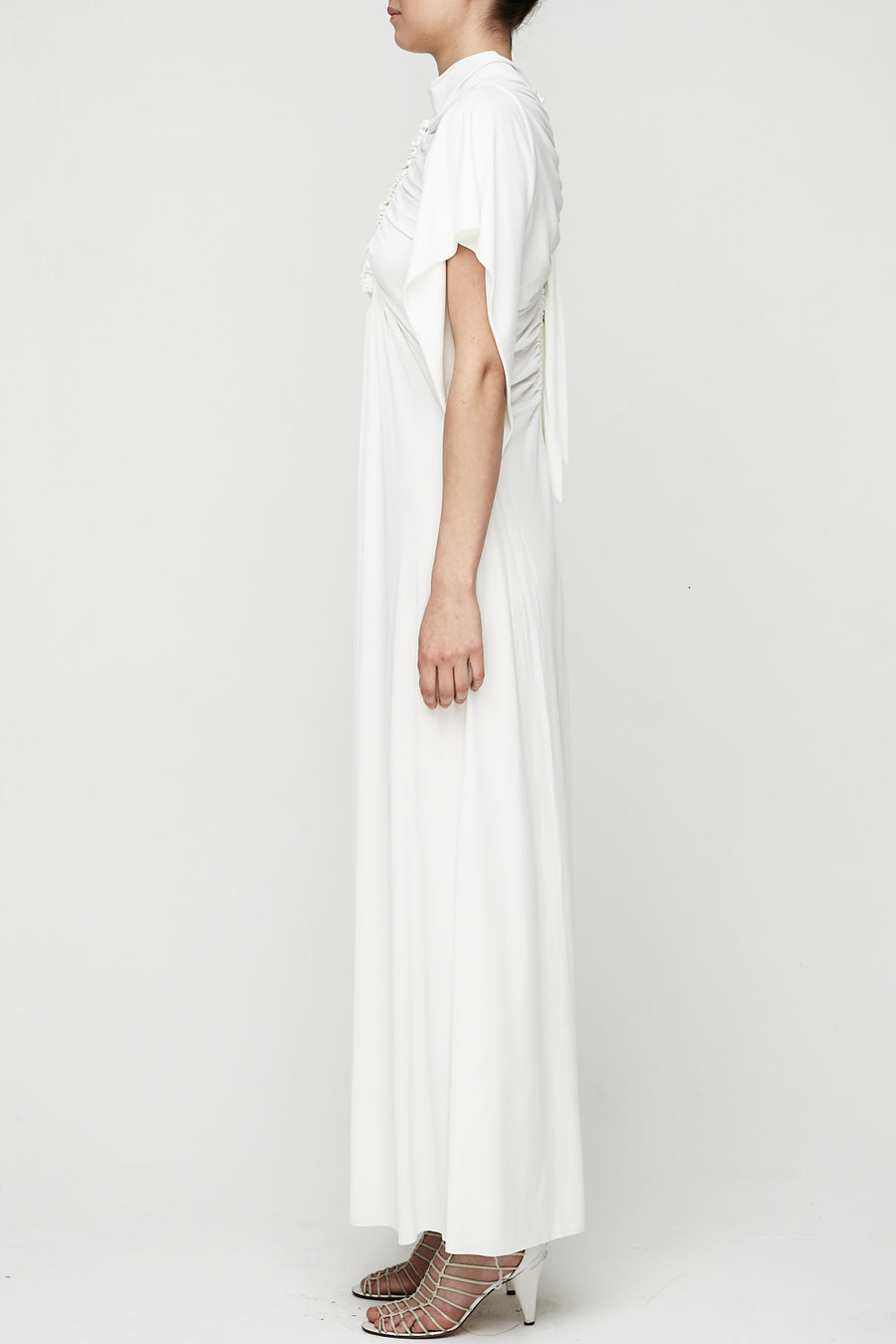 Earth Angel Gown - White