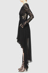 Black Magic Lace Dress - Black