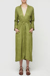 Slink Shirtdress - Olive