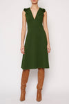 Green Future Dress - Pine