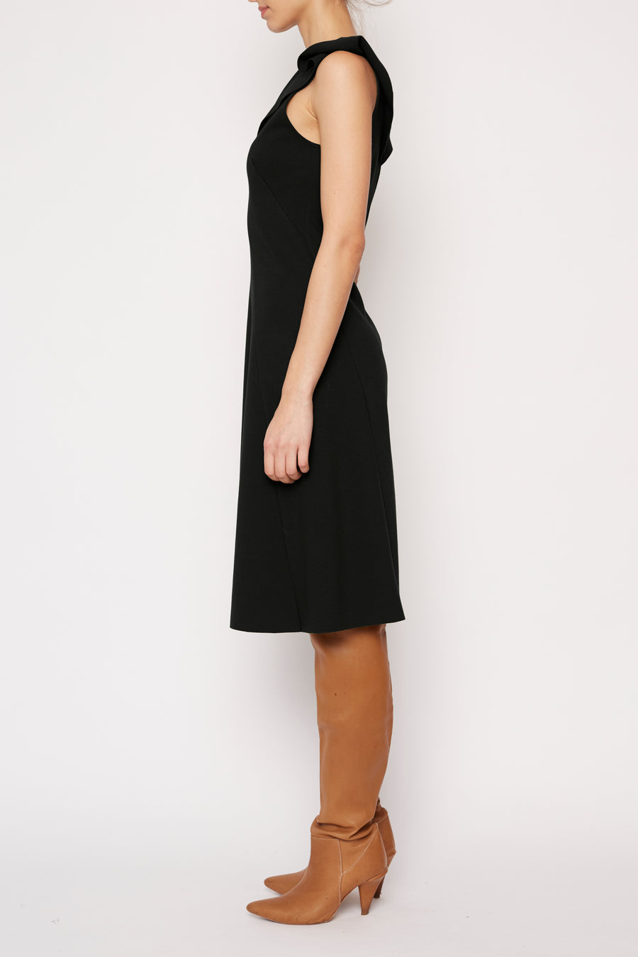Green Future Dress - Black