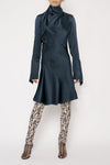 Fleur Cat Dress - Teal