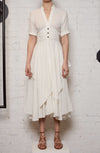 The Return Shirt Dress - White