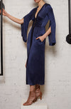 One Way Maxi Dress - Indigo