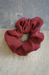 REMNANT SCRUNCHIE - OXBLOOD