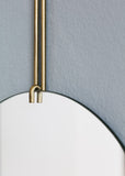 Wall Mirror - Brass - 50cm Ø