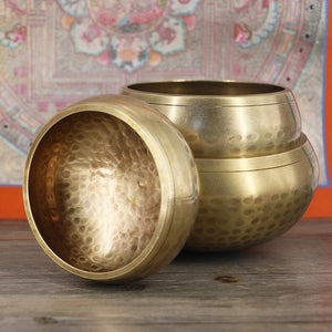 Tibetan Singing Bowl Chakra Sacred Sound - paint by numbers