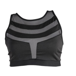 Women Sports Yoga Bra Breathable Top - paint by numbers
