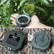 Professional Compass Outdoor Survival. - paint by numbers