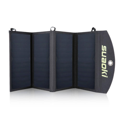 Portable Solar Panel 25W Waterproof Foldable Dual USB Port - paint by numbers
