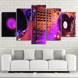HD Music Art on Canvas High Quality - paint by numbers