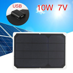 Solar Panel Emergency Power Supply 7V 10W - paint by numbers