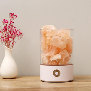 Mood Creator Air Purifier Himalayan Salt Lamp - paint by numbers