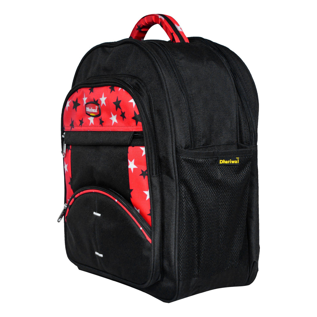 Dhariwal 26L Water Resistant Dual Compartment Matty School Bag School Bag SCB-305 Class 1 to 4 School Bags Dhariwal
