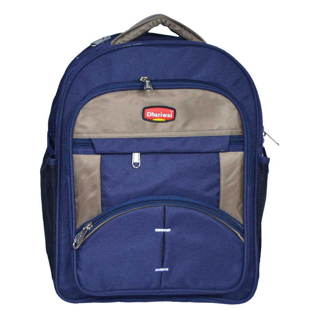 Dhariwal 26L Water Resistant Dual Compartment Matty School Bag School Bag SCB-305 Class 1 to 4 School Bags Dhariwal Blue
