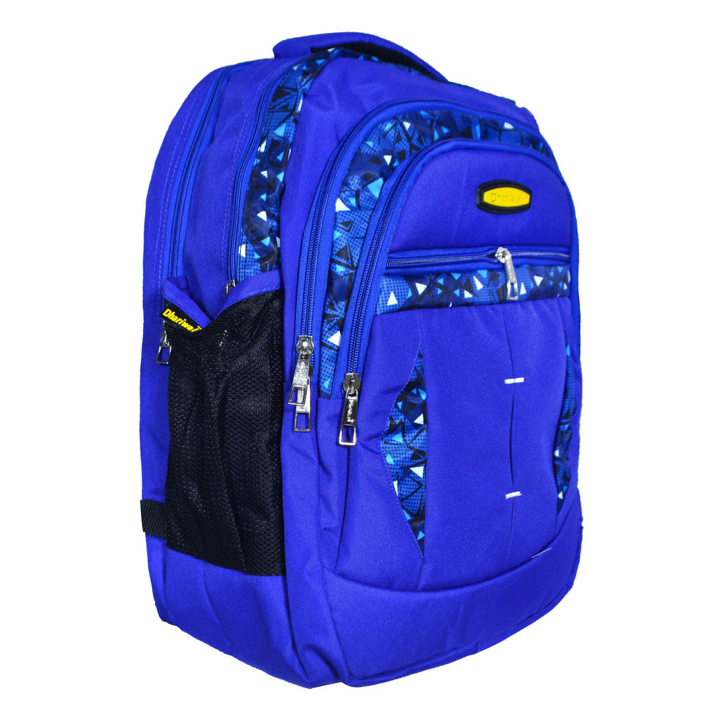 Dhariwal Dual Compartment Backpack with Rain Cover 37L BP-229 School Bags Mohanlal Jain (Dhariwal Bags)