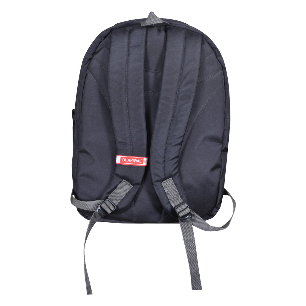 Dhariwal Dual Compartment Backpack with Rain Cover 41L BP-227 School Bags Mohanlal Jain (Dhariwal Bags)