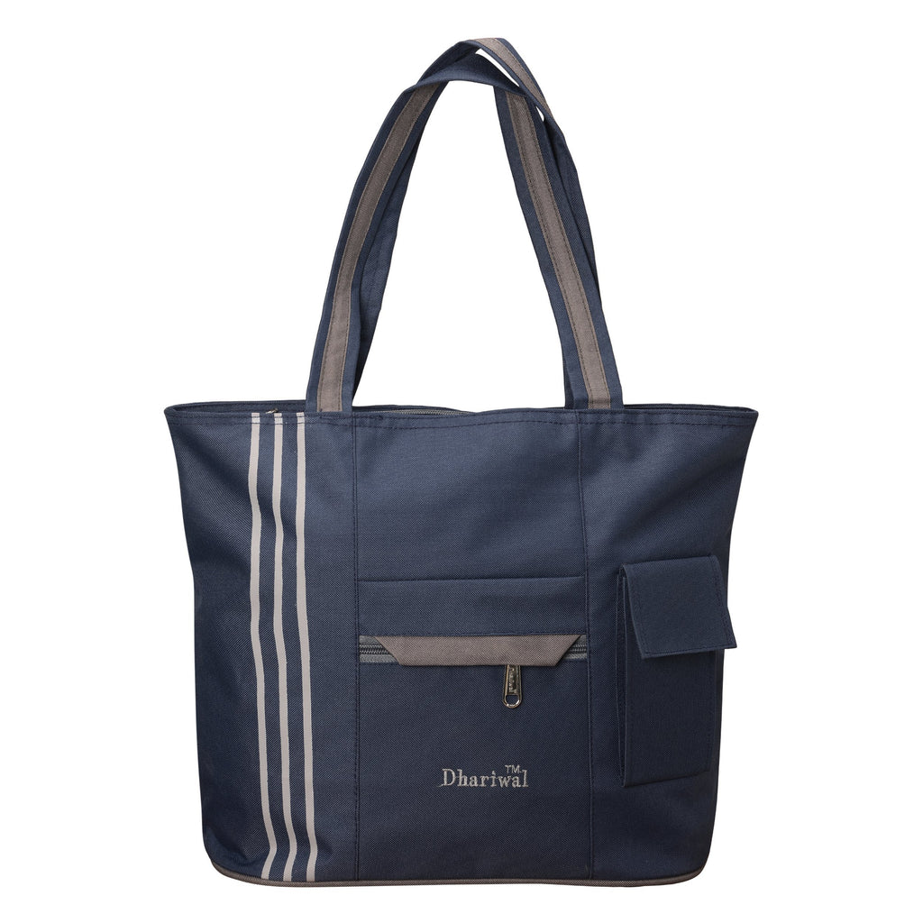 Dhariwal Matty Twin Handle Ladies Shopping Bag, Vanity Bag for Carriage, Travel, Casual,Outdoor Shopping Bags Mohanlal Jain (Dhariwal Bags)