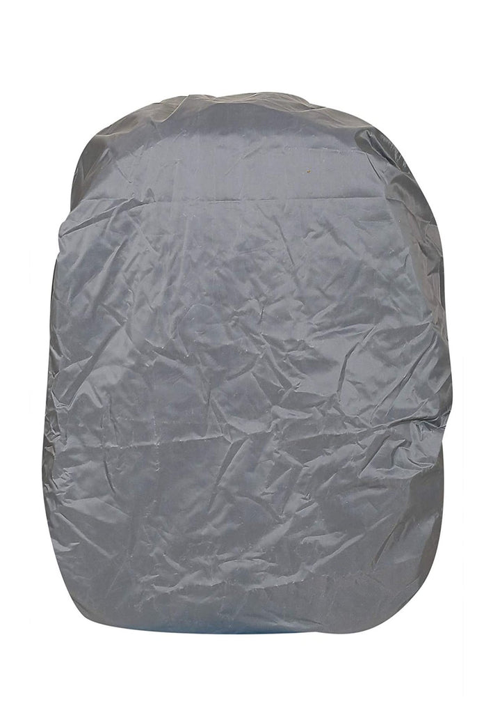 Dhariwal PU Water & Dustproof Cover for Backpack 40L-50L with Internal Push Clip Raincover Mohanlal Jain (Dhariwal Bags) Grey